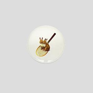 SNOW BUNNIES Mini Button
