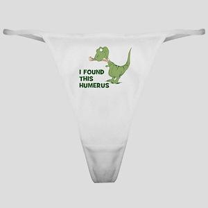 Cartoon Dinosaur Classic Thong