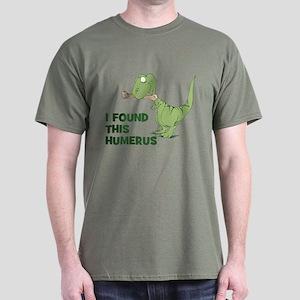Cartoon Dinosaur Dark T-Shirt