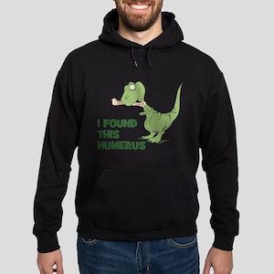 Cartoon Dinosaur Hoodie (dark)