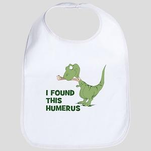 Cartoon Dinosaur Bib