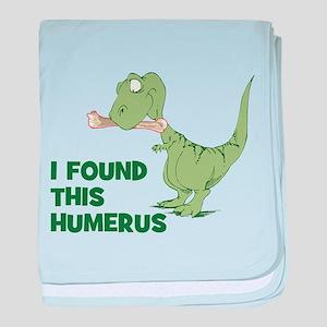 Cartoon Dinosaur baby blanket