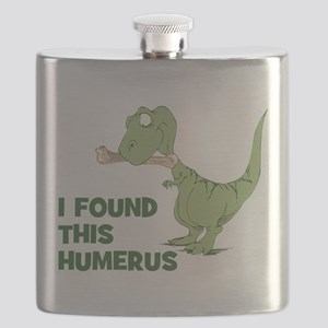 Cartoon Dinosaur Flask