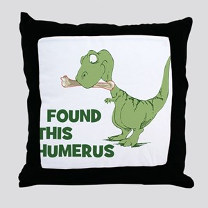 Cartoon Dinosaur Throw Pillow