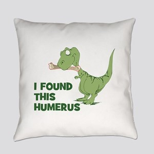 Cartoon Dinosaur Everyday Pillow