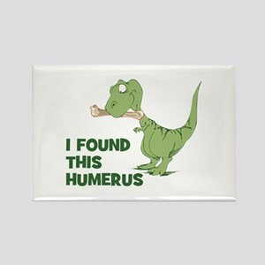 Cartoon Dinosaur Rectangle Magnet