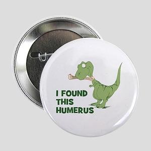 "Cartoon Dinosaur 2.25"" Button"