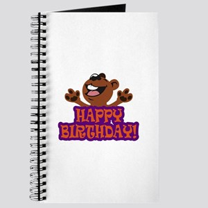 HAPPY BIRTHDAY BEAR Journal