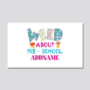 Wild About Pre-K Kids Back To S Car Magnet 20 x 12