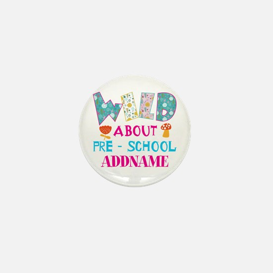 Wild About Pre-K Kids Back To School Mini Button