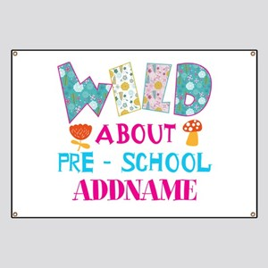 Wild About Pre-K Kids Back To School Banner