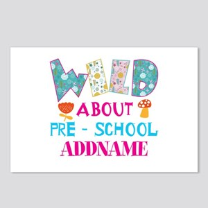 Wild About Pre-K Kids Bac Postcards (Package of 8)