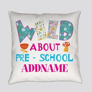 Wild About Pre-K Kids Back To Scho Everyday Pillow