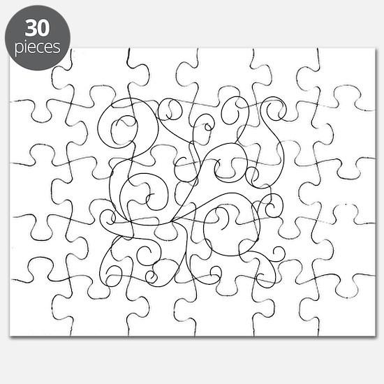 QUILT SWIRLS XLARGE Puzzle