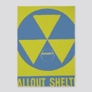 Fallout Shelter 5'x7'Area Rug