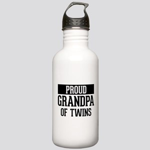 Proud Grandpa Of Twins Stainless Water Bottle 1.0L