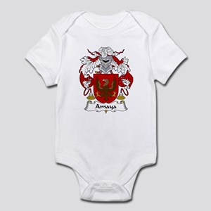 Amaya Family Crest Infant Bodysuit