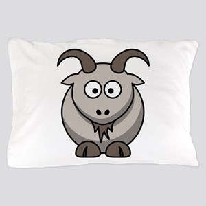 Cute Cartoon Goat Pillow Case