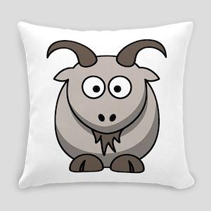 Cute Cartoon Goat Everyday Pillow