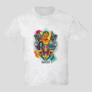 GOTG Guardians Team Shield Kids Light T-Shirt