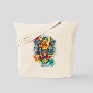 GOTG Guardians Team Shield Tote Bag