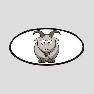Cute Cartoon Goat Patch