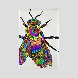 Painted Bee Magnets