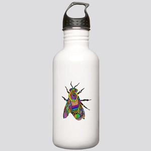 Painted Bee Sports Water Bottle