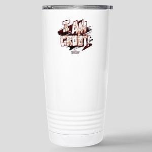 GOTG Comic I am Groot Stainless Steel Travel Mug