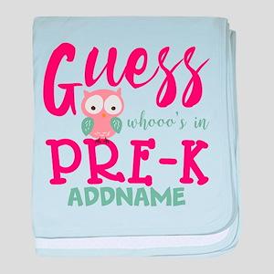 Preschool Shirts for Girls Personaliz baby blanket