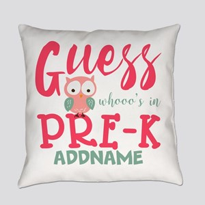 Preschool Shirts for Girls Persona Everyday Pillow