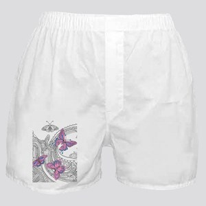 Butterfly Sketch 3 Boxer Shorts