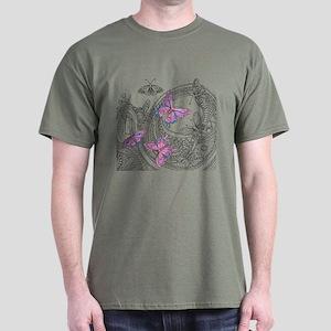 Butterfly Sketch 3 T-Shirt