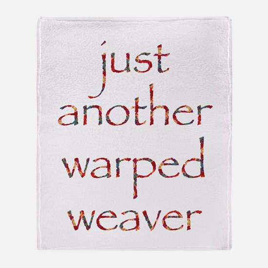 warpedbright.png Throw Blanket