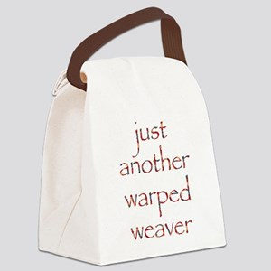 warpedbright Canvas Lunch Bag