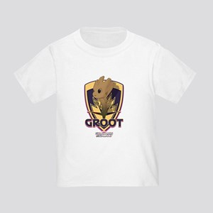 GOTG Baby Groot Emblem Toddler T-Shirt