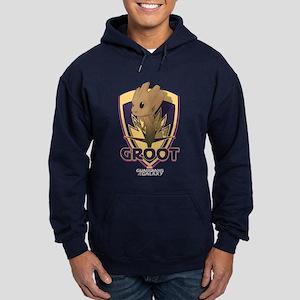 GOTG Baby Groot Emblem Hoodie (dark)