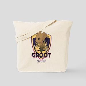 GOTG Baby Groot Emblem Tote Bag