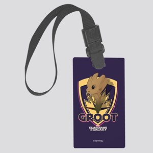 GOTG Baby Groot Emblem Large Luggage Tag