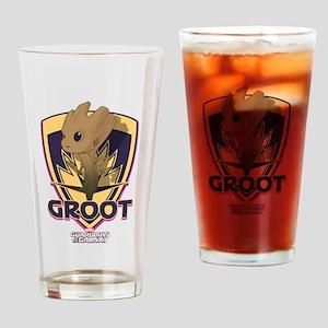 GOTG Baby Groot Emblem Drinking Glass