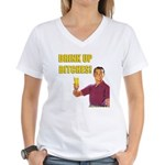 Drink Up Bitches Women's V-Neck T-Shirt