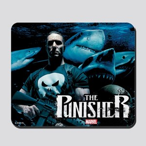 Punisher Sharks Mousepad