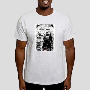 Punisher Skull Typography Light T-Shirt