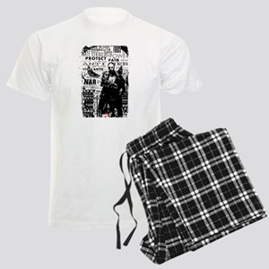 Punisher Skull Typography Men's Light Pajamas