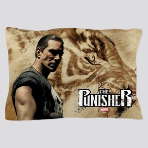 Punisher Tiger Pillow Case