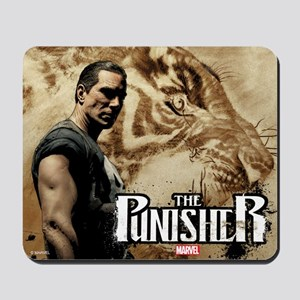 Punisher Tiger Mousepad