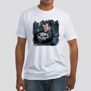 Punisher Face Fitted T-Shirt
