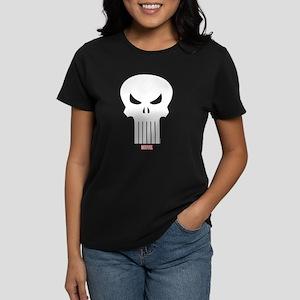 Punisher Skull Women's Dark T-Shirt