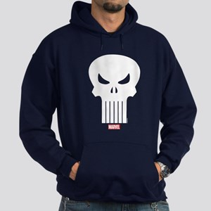 Punisher Skull Hoodie (dark)