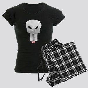 Punisher Skull Women's Dark Pajamas